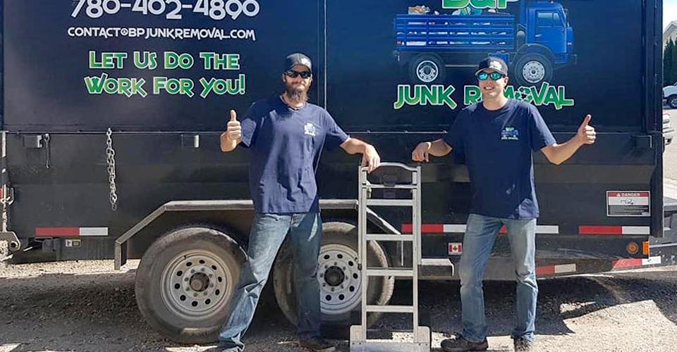 B & P Junk Removal Staff